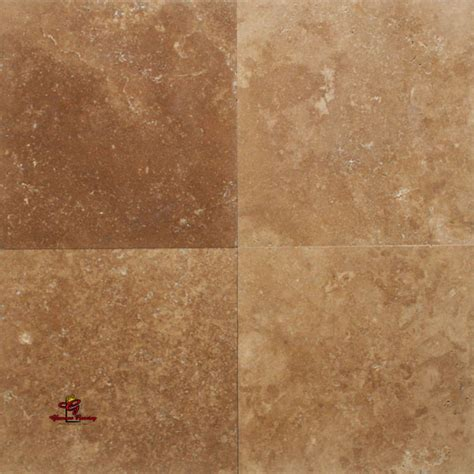 Mocha Honed and Unfilled Travertine Floor   Los Angeles