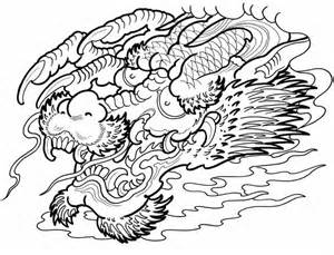 Asian Tattoo Designs Creative Haven Coloring Pages