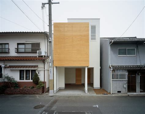 Minimalist House : Minimalist Japanese Residence Making The Most Of A Narrow