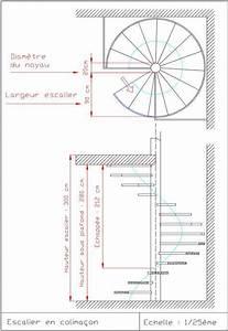 Escalier Colimaçon Beton : escalier circulaire dimensions palier de d part et d 39 arriv recherche google construccion en ~ Melissatoandfro.com Idées de Décoration