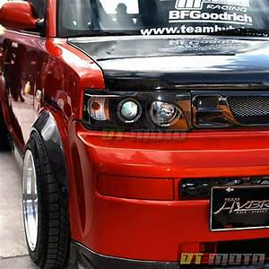 Black 2004 2005 2006 Scion Xb Led Halo Projector