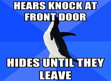 Socially Awkward Meme - socially awkward penguin popular meme