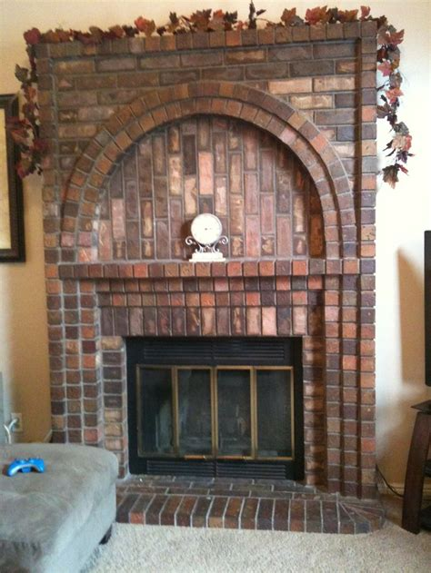 decorate brick fireplace mantel pin by barbara golden on fireplaces pinterest