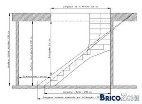 Escalier Calcul Tremie by Calcul D Un Escalier Bois 1 4 Tournant Avec Palier
