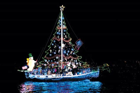 boat parade to light up newport harbor the log