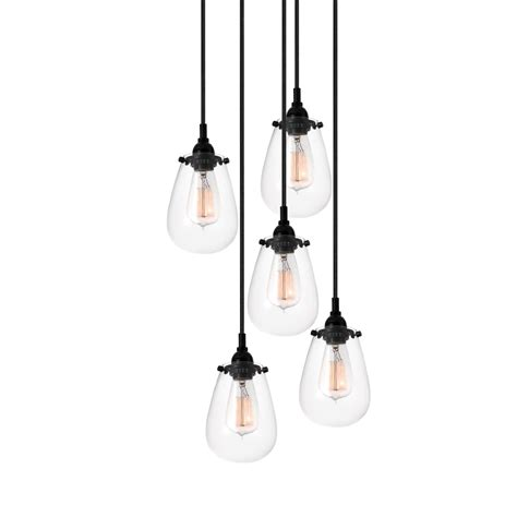 hairstyles sophisticated 5 light pendant five light