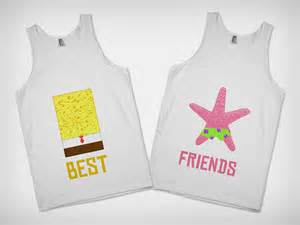 Spongebob and Patrick Best Friend Shirts