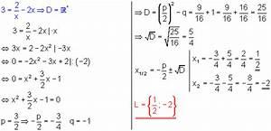 Lösungsmenge Berechnen : l sungen quadratische gleichungen v mit br chen mathe ~ Themetempest.com Abrechnung