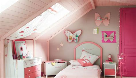 chambre fille design couleur déco peinture chambre fille