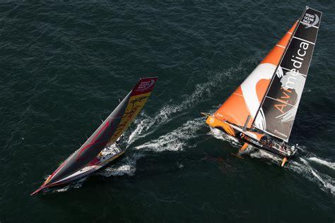 volvo ocean race  sieben teams stellen sich