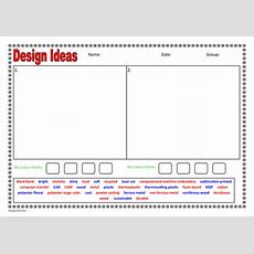 General Designing Sheet For Sen Students By Foodtechfanatics  Teaching Resources Tes