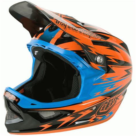 motocross helmet design troy lee designs 2014 d3 carbon thunder helmet