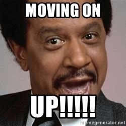 Moving On Up Meme - moving on up george jefferson badass meme generator