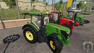 John Deere 7r : john deere 7r series tractor v1 0 0 1 fs19 farming simulator 19 mod fs19 mod ~ Medecine-chirurgie-esthetiques.com Avis de Voitures
