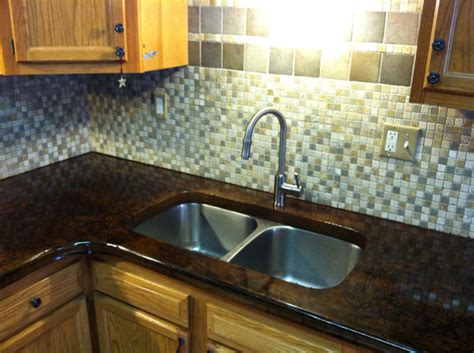 backsplash kitchen diy g m concrete concrete countertops