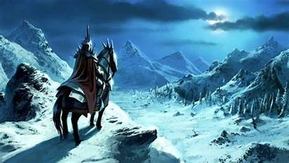 Witch Angmar King Wallpapers Lotr Rise Bfme