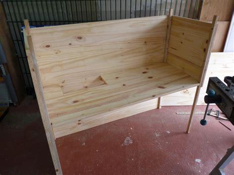 construction d un clapier pour coca 233 par 233