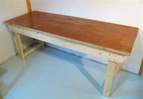 how to build a work bench easy to build workbench