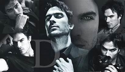 Damon Salvatore Wallpapers Vampire Desktop Stefan Somerhalder