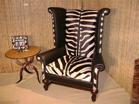 safari bathroom ideas furniture fabulous zebra print leather wingback chair with