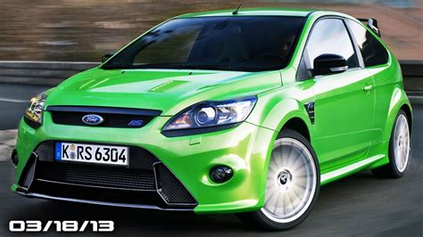 ford focus rs  amazing photo gallery