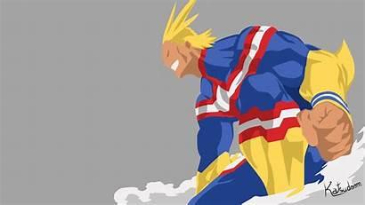 Might Anime Academia Hero Boku Boy Desktop