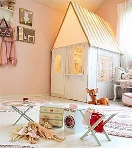 Cabane Chambre Fille : une cabane d int rieur pour r ver et s vader ~ Teatrodelosmanantiales.com Idées de Décoration