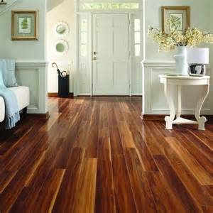 laminate plank flooring pergo max 5 in w x 3 97 ft l visconti walnut high gloss laminate wood