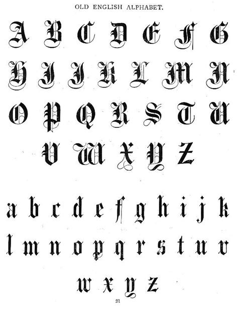 Aunt Louisa's First Book for Children - Typography - Old English Font | Tattoos | English fonts