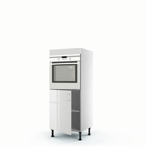 facade de cuisine leroy merlin meuble de cuisine demi colonne blanc four 1 porte h