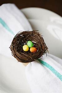easter nest napkin rings gimme some style