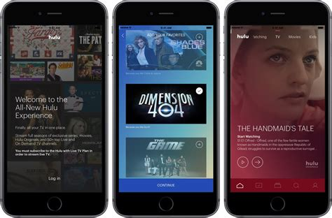 Hulu's  Per Month Live Tv Service Launches, App Hits