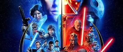 Wars Skywalker Saga Wallpapers Theme Throne Epic