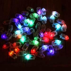 Led Ballon Lichter : 50pcs lot led lampen ballon lichter f r papierlaterne ballon mehrfarbenweihnachtsfest dekor ~ Yasmunasinghe.com Haus und Dekorationen