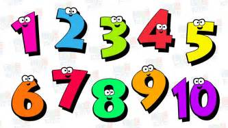 Counting Numbers For Children