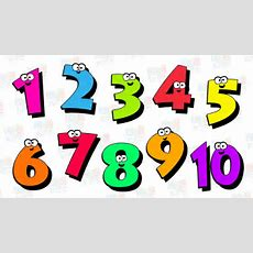 Counting Numbers For Children  Numbers 1 To 10 Youtube