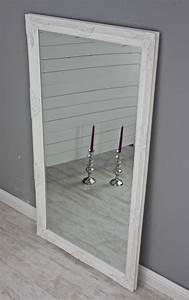 Spiegel Weiß Antik : spiegel wei antik 132 x 72 cm holz wandspiegel barock ~ Sanjose-hotels-ca.com Haus und Dekorationen