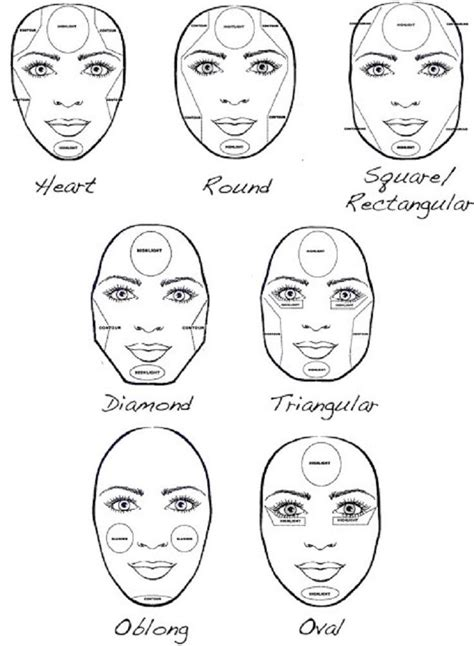 top  tips  tutorials thatll   face  thinner face shapes contour makeup