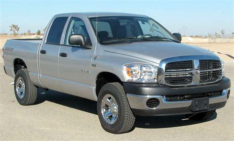 File:2008 Dodge RAM 1500 SXT 4 door pickup    NHTSA 01