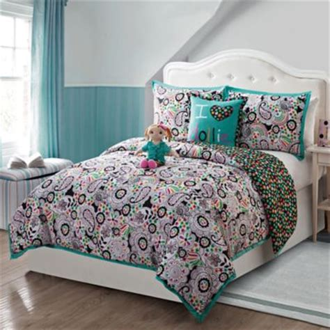 Buy Black And Teal Bedding From Bed Bath & Beyond