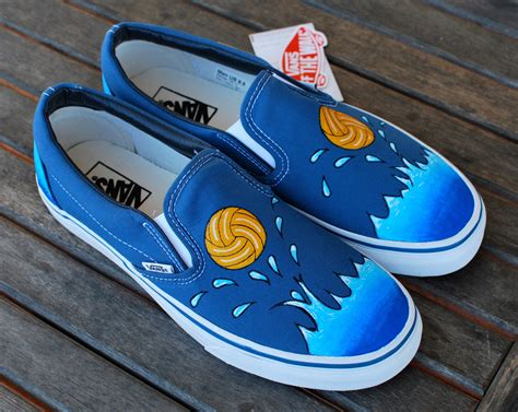 Vans Shoes : Custom Water Polo Vans Shoes