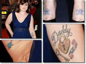 Kelly Osbourne Tattoos Removal