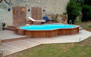 Above Ground Pool Deck Images Above Ground Pool Deck Ideas From Wood For Relaxation Area At Home Homestylediary