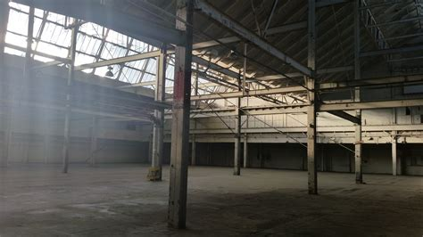 day  abandoned warehouse totally