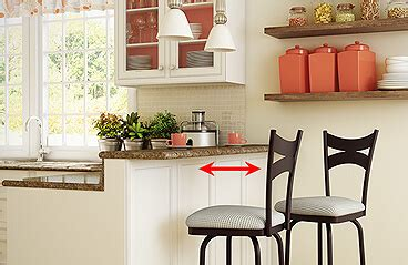 tip distance needed   stool   wall