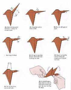 Origami Duck Easy Step By Step  U2013 Jadwal Bus