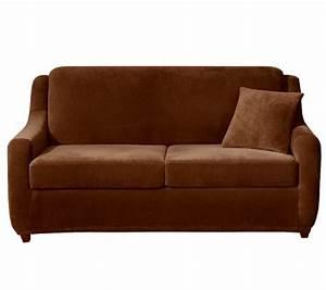 Sure Fit Strech Pearson 3 Piece Full Sleeper Sofa
