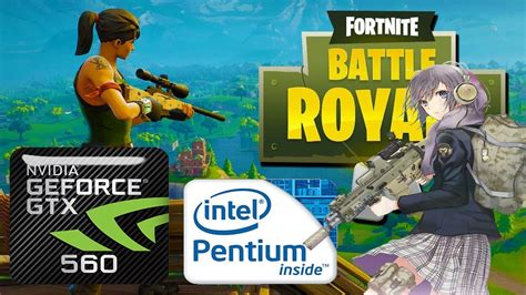 fortnite intel fortnite battle royale on intel pentium g2030 gtx 560