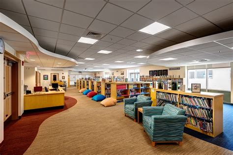 Design Fairfield Ct by Library New Fairfield Connecticut Middle School