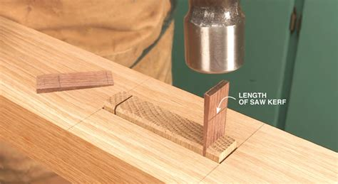wedged mortise  tenon popular woodworking magazine